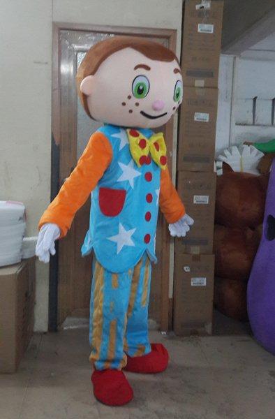 Boy Cartoon Clothing Cartoon Show Clothing Cartoon Clothes Little Boy Cartoon Even Walking Performance Clothing Mascot Costume