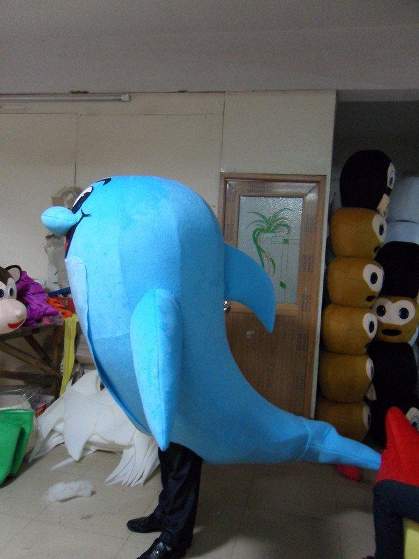 Cartoon Dolphin Cartoon Props Ocean Series Doll Clothing Doll Clothing Cartoon Walking Doll Clothing Doll Mascot Costume