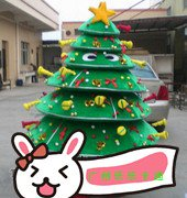 Christmas Tree Cartoon Dolls Cartoon Clothing Performance Clothing Cartoon Christmas Cosplay Costumes Mascot Costume
