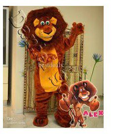 Foreign Plates Lion Walking Cartoon Doll Clothing Doll Clothing Stage Performance Overseas Edition Lions Mascot Costume
