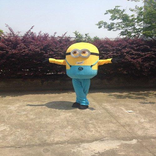 Despicable Me Little Yellow Man Cartoon Doll Clothing Small Huangren Gong Tsai Despicable Me Little Yellow Man Cartoon Clothing Mascot Costume