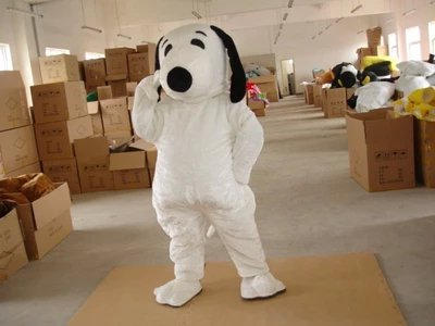 Snoopy Cartoon Clothing Cartoon Doll Cartoon Walking Doll Clothing Doll Costumes Mascot Costume