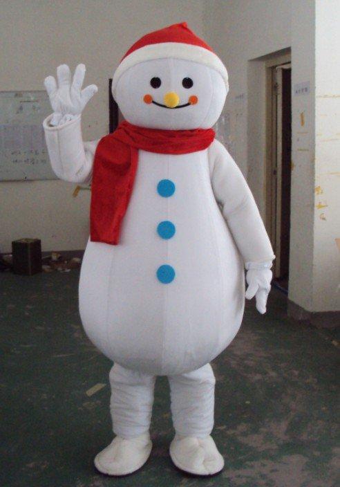 Snowman Cartoon Walking Doll Clothing Doll Clothing Cartoon Clothing Performance Clothing Advertising Costumes Mascot Costume