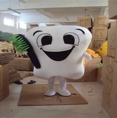 Cartoon Doll Clothing Doll Clothing Cartoon Tooth Toothpaste Advertising Promotional Props Cartoon Clothing Mascot Costume