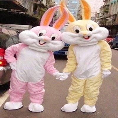 Bugs Bunny Cartoon Bunny Costume Dolls Walking Cartoon Doll Clothing Cartoon Costumes Doll Costumes Mascot Costume