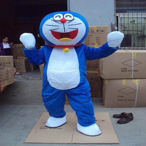 Cartoon Dolls Cartoon Clothing Nobita Shizuka Doraemon A Dream Dolls Walking Doll Clothing Doll Clothing Props Mascot Costume