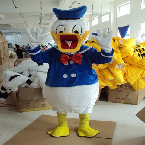 Donald Duck Cartoon Doll Clothing Cartoon Dolls Walking Clothing Cartoon Clothing Costumes Mascot Costume