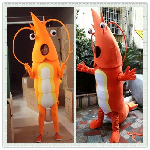 Ocean Series Lobster Cartoon Doll Clothing Walking Cartoon Doll Cartoon Clothing Doll Clothes Show Mascot Costume