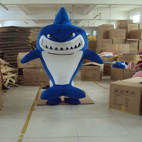 Shark Cartoon Doll Clothing Doll Clothing Cartoon Walking Doll Clothing Cartoon Animation Cartoon Costumes Props Mascot Costume