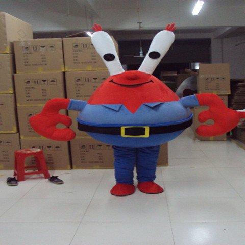 Cartoon Doll Clothing Cartoon Crab Lobster Crab Costumes Walking Doll Clothing Mascot Costume