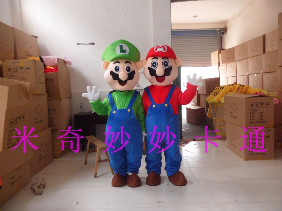Cartoon Doll Doll Cartoon Costumes Cartoon Costumes Stage Performance Clothing Mario Mary Mascot Costume