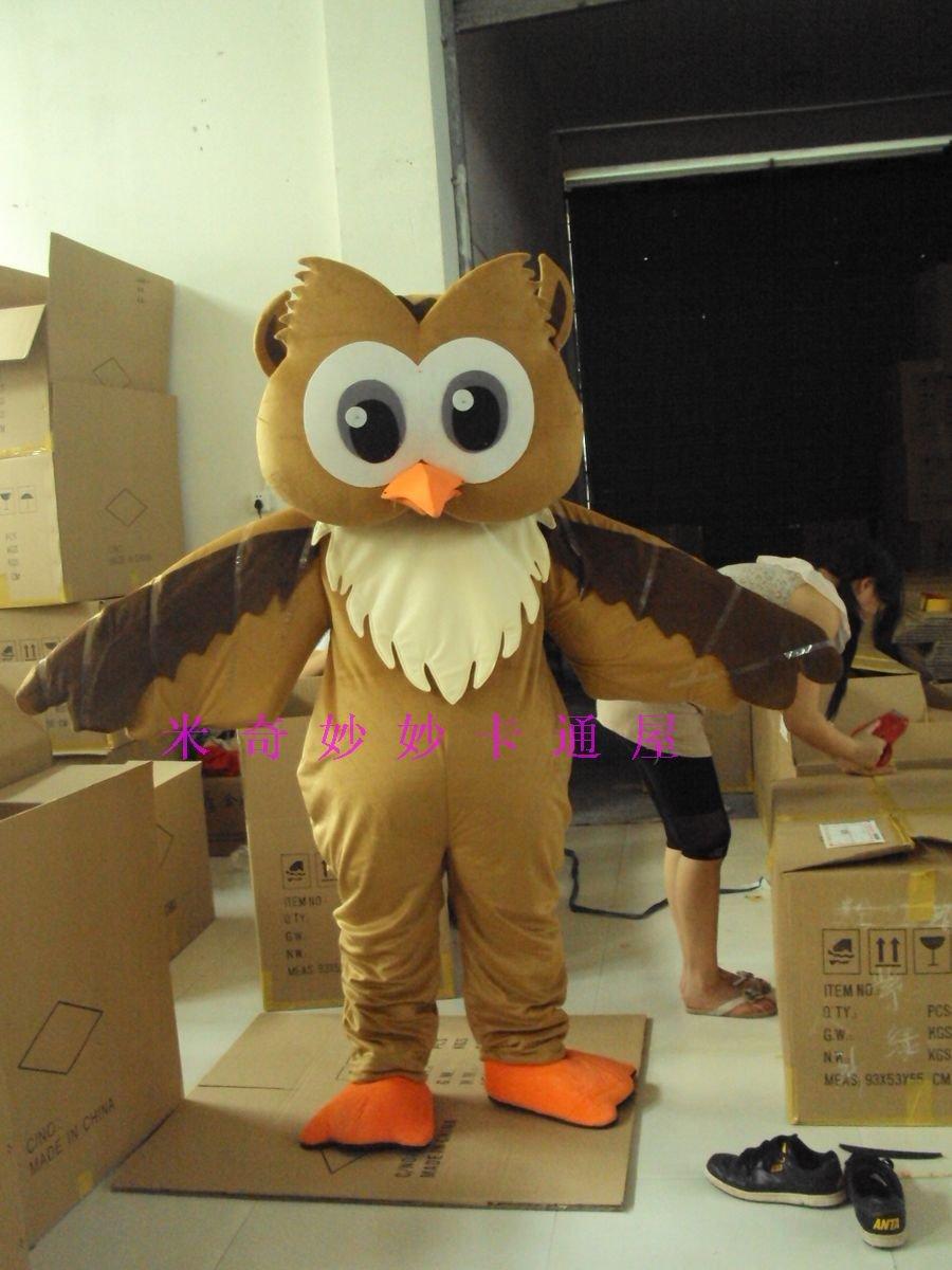 Cartoon Doll Clothing Cartoon Doll Doll Cartoon Costumes Walking Doll Clothing Owl Mascot Costume