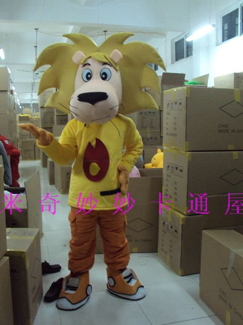 Cartoon Doll Doll Clothing Cartoon Costumes Walking Cartoon Doll Doll Clothing Small Lion Mascot Costume