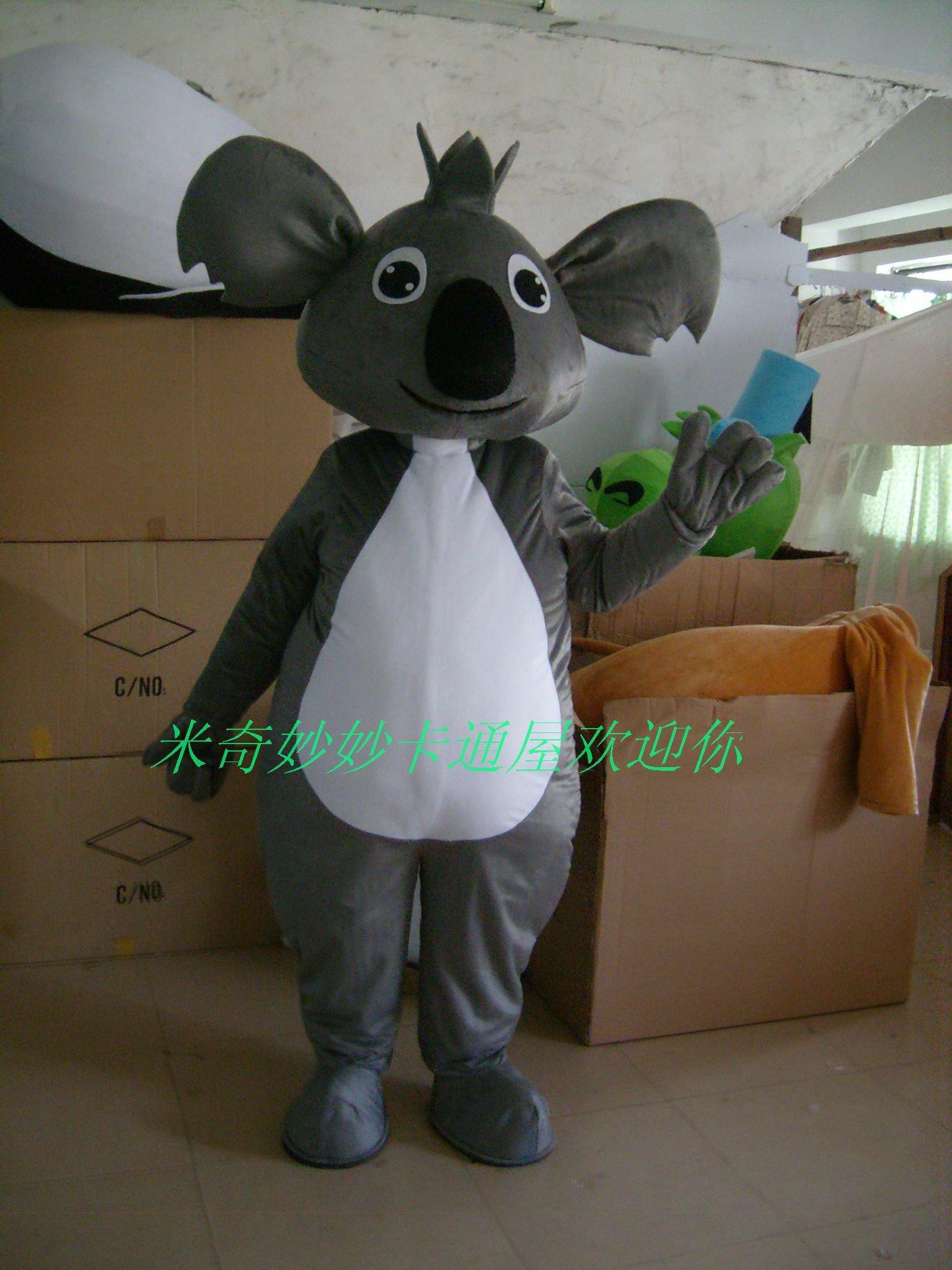 Walking Cartoon Doll Clothing Props Cartoon Costumes Show Costumes Cartoon Koala Clothing Mascot Costume