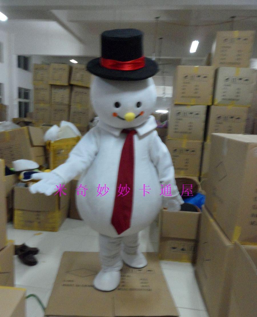Cartoon Doll Doll Clothing Cartoon Costumes Walking Cartoon Doll Doll Clothing Snowman Mascot Costume