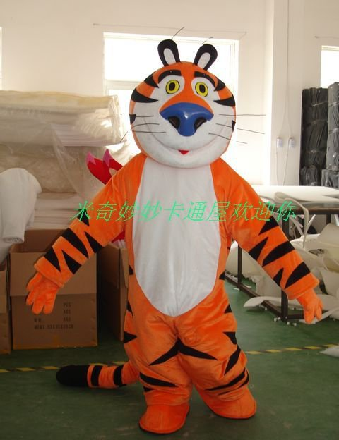 Manufacturers Dolls Walking Cartoon Doll Clothing Cartoon Costumes Cartoon Tiger Costume Mascot Costume