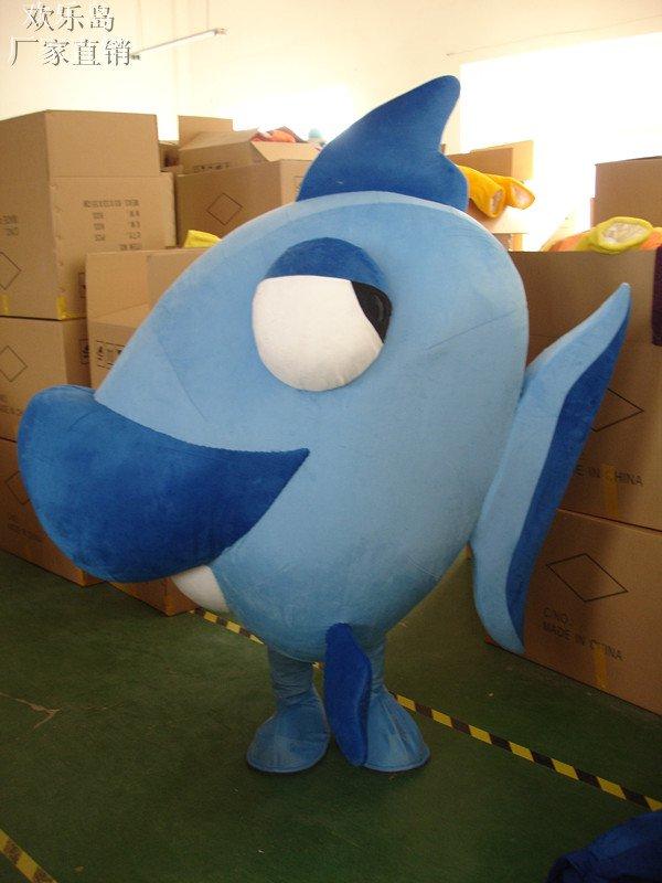 Deep-sea Fish Cartoon Cartoon Doll Clothing Cartoon Walking Doll Clothing Doll Clothing Props Mascot Costume