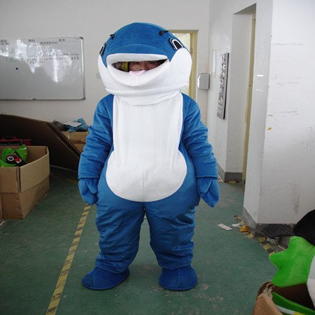 Dolphin Shark Cartoon Walking Doll Clothing Cartoon Dolls Doll Clothing Doll Costumes Mascot Costume