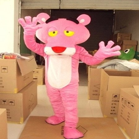 Pink Panther Pink Panther Cartoon Clothing Cartoon Walking Doll Cartoon Doll Clothing Doll Clothing Props Mascot Costume