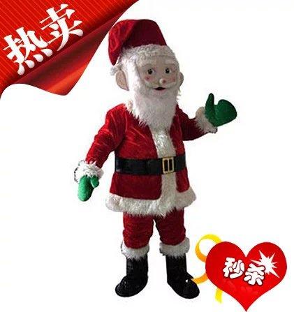 Cartoon Costumes Walking Cartoon Dolls Cartoon Clothing Performance Props Props Christmas Santa Claus Doll Mascot Costume