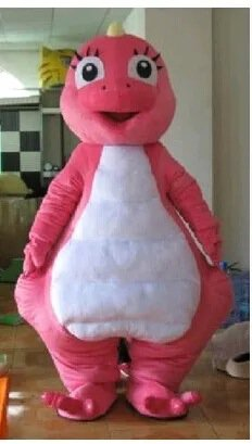 Cartoon Costumes Walking Cartoon Dolls Cartoon Doll Dress Performance Props Rose Dinosaur Dragon Mascot Costume