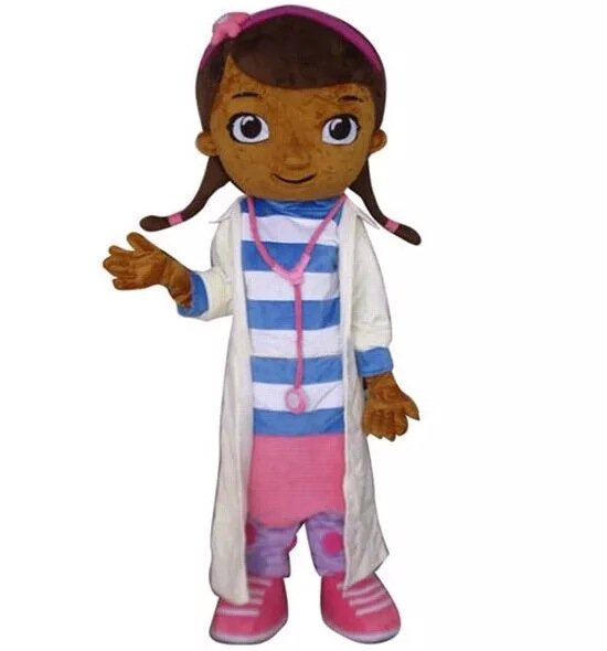 Cartoon Costumes Walking Cartoon Dolls Cartoon Doll Dress Performance Props Female Doctor Mascot Costume