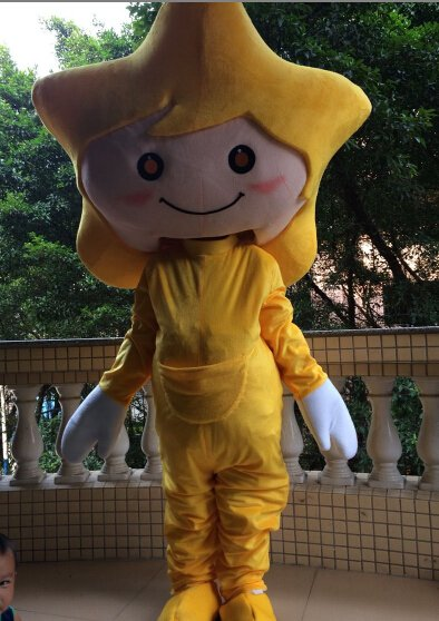 Cartoon Costumes Walking Cartoon Dolls Cartoon Doll Dress Performance Props Pentagram Doll Mascot Costume