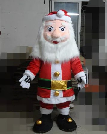 Cartoon Costumes Walking Cartoon Dolls Cartoon Doll Santa Claus Dress Performance Props Mascot Costume