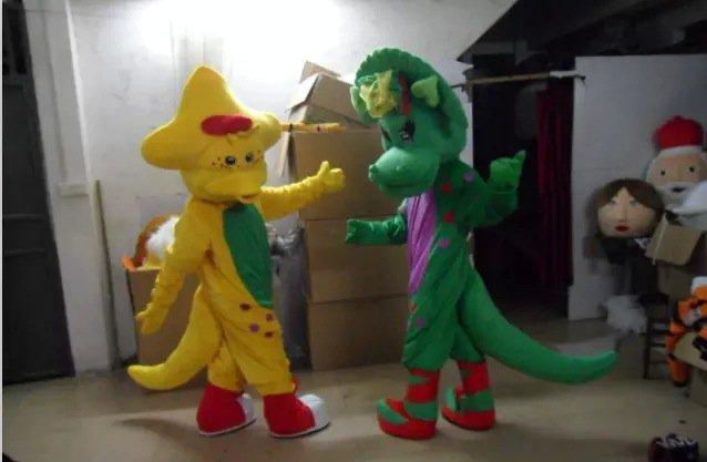 Cartoon Costumes Walking Cartoon Dolls Cartoon Doll Dress Performance Props Long Mascot Costume