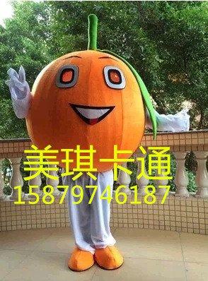 Cartoon Mascot Costume Cartoon Figures Clothing Cartoon Dolls Costumes Orange Oranges