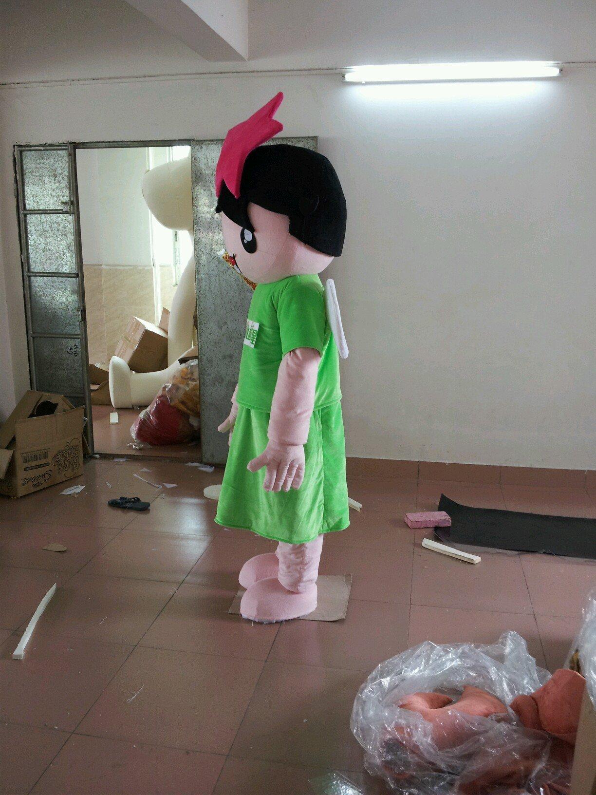 New Star English Training Summer Training Institutions Mascot Cartoon Stars Cartoon Doll Clothing Mascot Costume