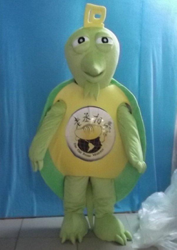 Animation Film Props Model Tortoise Turtle Mascot Cartoon Dolls Walking Cartoon Turtle Costume Show Mascot Costume