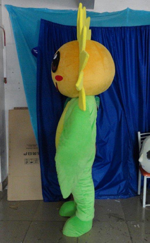 Big Eyes To The Japanese Cartoon Books Sunflower Plant Nursery Class Cos Clothing Clothing Children Playground Cartoon Dolls Performances Mascot Costume