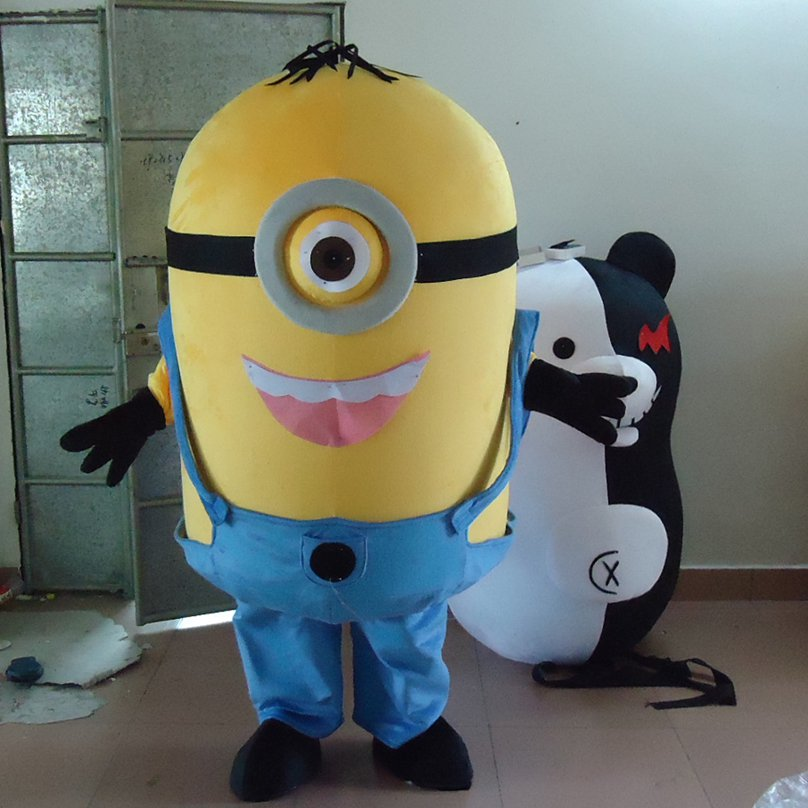 Cartoon Costumes Despicable Me Huang Doudou Capsule Minions Doll Cartoon Dolls Mascot Costume