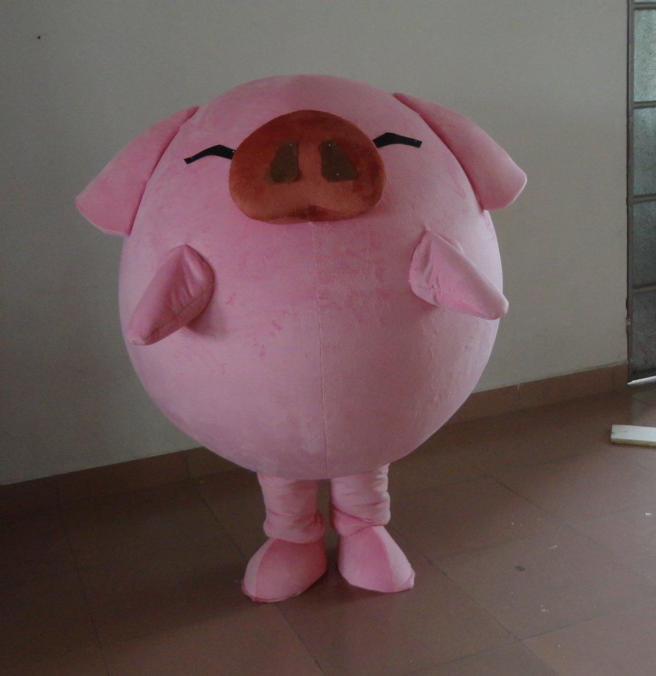 Pig Cartoon Clothing Happy Pig Cos Dress Full Body Papa Pig Mcdull Pig Cartoon Dolls Mascot Costume