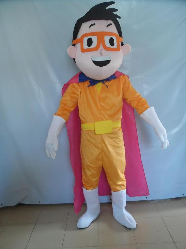 Gold Belt Perak Asia Handsome Little Guy Cartoon Dolls Cartoon Clothing Fashion Cloak Knight Sportsman Mascot Costume