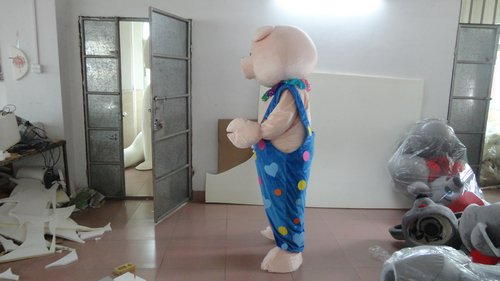 Journey To The West Pig Cartoon Dolls Laugh Travels Theatrical Performance Clothing Costumes Twists Pig Cartoon Costumes Mascot Costume