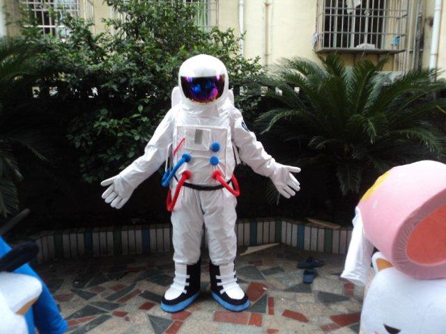 Shenzhou Spaceship Spacesuit Spacesuit Spacesuits Astronauts Cartoon Clothing Cartoon Dolls Clothing Mascot Costume
