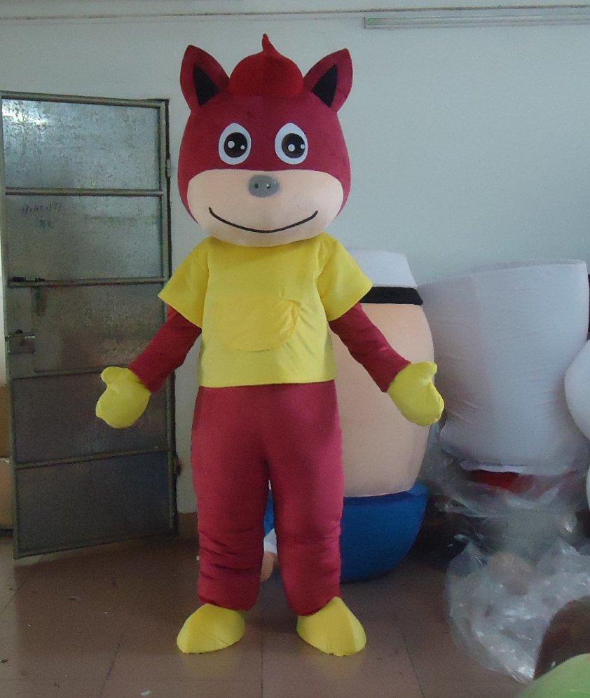 2014 Ma Daji Zebra Cos Anime Cartoon Dolls Cartoon Mascot Costume Maca Through Model