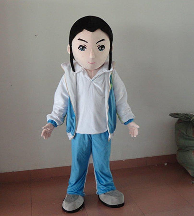 Cartoon Cartoon Doll Costume Design Warren Like Chinese Kung Fu Martial Warren Cartoon Clothing Mascot Costume