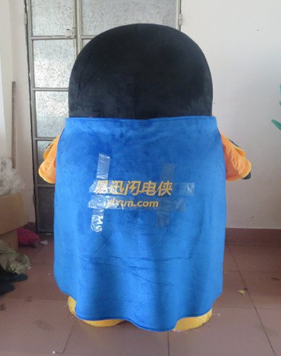 Cartoon Costumes Cartoon Mascot Cartoon Characters Walking Fast and Easy Network Performance Penguin Cartoon Dolls Mascot Costume