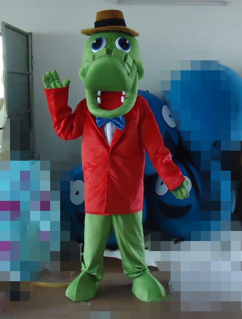 Cartoon Model Pull Big Ears Monkey Ah La Crocodile Gena Cheburashka Mascot Costume Suit