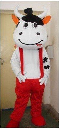 Mengniu Walking Doll Clothing Cartoon Clothing Clothes Propaganda Props Wedding Props Mascot Costume