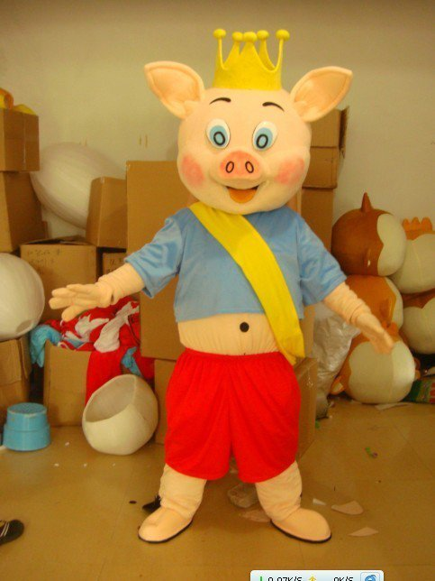Pig Dolls Walking Clothing Doll Clothes Doll Clothing Mascot Costume