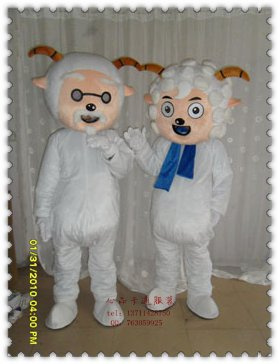 Costumes Cartoon Walking Doll Clothing Wedding Supplies Section of Japanese Books Dress Pleasant Goat and Big Big Wolf Mascot Costume