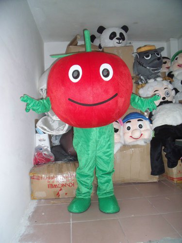 Fruits and Vegetables Red Apple Cartoon Doll Doll Clothing Clothes Green Apple Walking Costume Mascot Costume