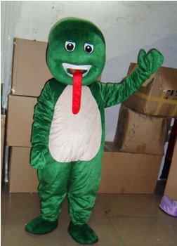Green Snake Snake Cartoon Snake Mascot Costumes Doll Dolls Walking Cartoon Show Props Supplies