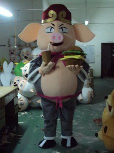 Pig Cartoon Dolls Clothes Stage Costume Plush Toys Gifts Mascot Costume