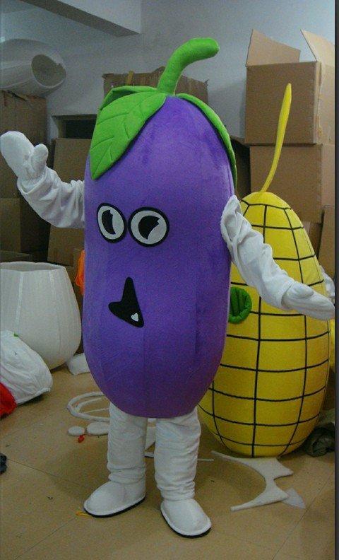 Plant Eggplant Cartoon Clothes Business Performance Cartoon Clothing Cartoon Dolls Costumes Mascot Costume