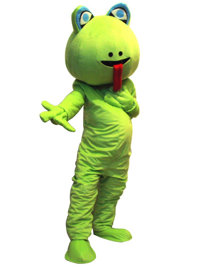 Snake Cartoon Walking Doll Clothing Cartoon Show Clothing Costumes Snake Mascot Costume
